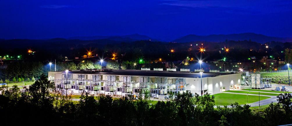 google solar data center