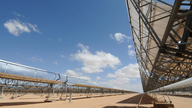 Morocco is growing its solar energy sector using solar power plants